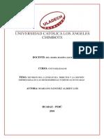 Investigación Formativa - III Unidad