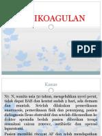 farmakologi antikoagulan