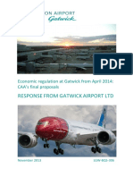 PUBLIC - Gatwick Response to CAA Final Proposals - 4 Nov 13
