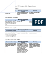 sally age 65 client assessment matrix