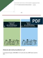 Historia Del Estructuralismo-Akal