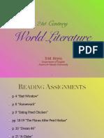 21st Century World Literature