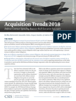 Defense Contracting_Acquisition Trends 2018_CSIS