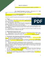 3.1. Grant Contract Sample
