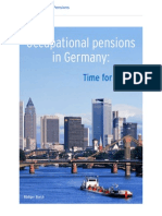 Occupational pensions in Germany − time for action, Ruediger Blaich of AEGON Global Pensions
