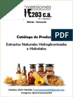 Catalogo de Productos 2018