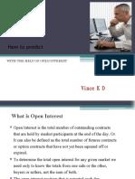 Open Interest Study