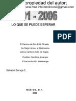 2001-2006 Lo Que Se Puede Esperar salvador borrego