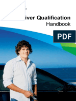 Driver Qualification Handbook English