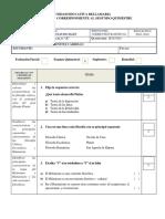 Evaluación 2do Quimestre de Corrientes Filosóficas