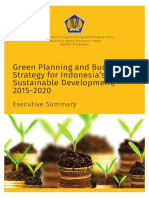 Green Planning and Budgeting Strategy for Indonesia's Sustainable Development, 2015-2020
