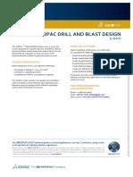 GEOVIA Training Surpac Drill and Blast Design volume1