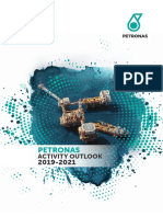 PETRONAS Activity Outlook 2019-2021