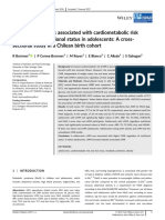 Low Muscle Cardiometabolic Risk