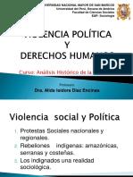 Violencia politica y derechos humanos