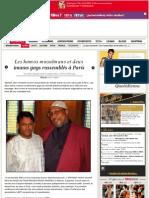 Les homos musulmans et deux imams gays rassemblés à Paris