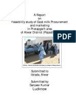 Goat Milk Marketing Feasibility Study Report _Only for Reference (1)