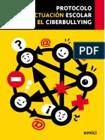 Protocolo de Actuación Escolar Ante El Ciberbullyng