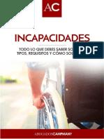 Guía Informativa Incapacidades - Campmany Abogados