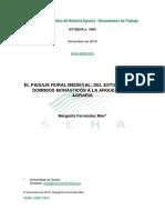 El Paisaje Rural Medieval Del Estudio De