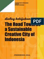 Prosiding Dialog Kebijakan Kota Kreatif 2016