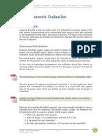 Socio Economic Evaluation