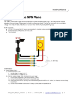 Testing IceFree NPN Vane Instructions