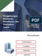 Resturkturisasi Perusahaan