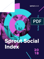 Sprout Social Index 2018