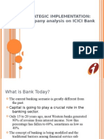 ICICI-Bank Strategic Implementation