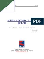 Bonus RCP-300 Manual de Instalacion Ed.1.2