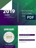 Chubbyrawit Calendar 2019