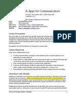 JOU 4364 Advanced Web Apps s2019