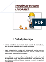 La Prevención de Riesgos Laborales