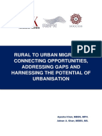 Rural to Urban Migration Working Paper