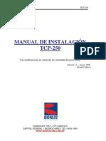 Bonus TCP-250 Manual de Instalacion Ed.3.1