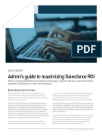 Admins Guide to Maximizing Salesforce ROI