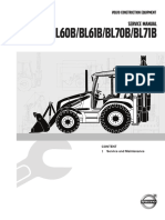Service Manual Backhoe Loader B Series Service and Maintenance