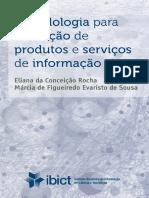 Rocha Sousa Metodologia Para a Avaliação de Produtos e Serviços de Informação