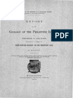 USGS (1895). Geology of the Philippine Island