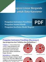 PPT Pelatihan Regresi pada Kuesioner.pptx