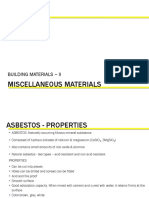 Unit 8-Miscellaneous Materials & Treatments
