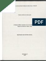 Ditadura Militar Dissertaçao
