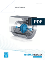 Nicotra Direct Driven Centr Fan