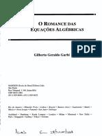 Romances Algébricos Em Formação