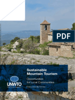 Sustainable Mountain Tourism – Opportunities for Local Communities, Executive Summary