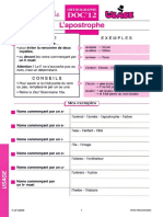 Fiche Pédagogique - Orthographe CE. Règles D_usage - Docs en Stock