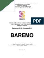 Baremo Pgclinicos 2018 2019