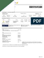 Jet Airways Web Booking ETicket ( UVNRVS ) - Kapoor