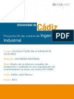 Diseño de un sistema completo de evaluación o auditoría en una organización de mantenimiento en base a la norma ISO 55000